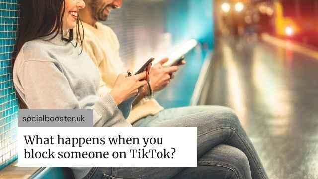 Block someone on TikTok